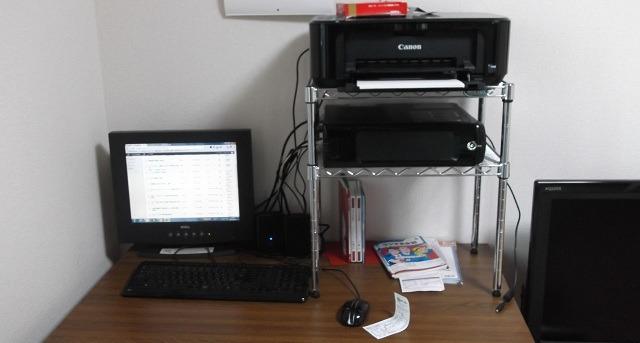 PC、プリンター、液晶ディスプレイ