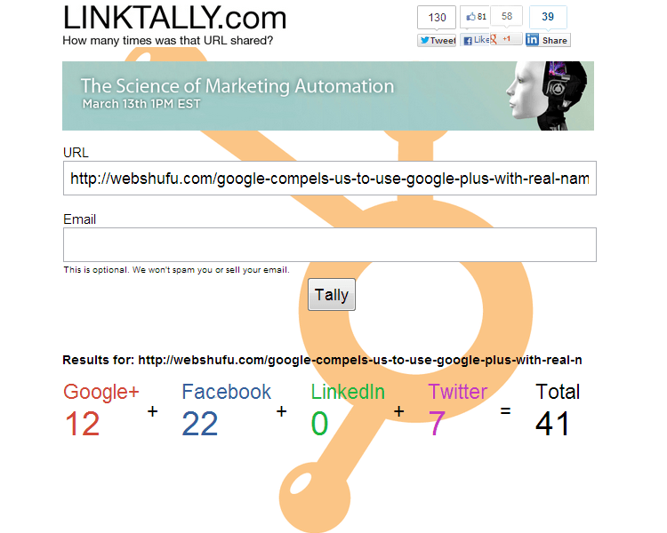 LinkTally.com