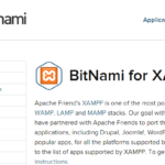 超簡単図解!! XAMPP+BitNamiでWordPressをローカル(Windows)に設置