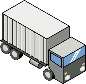 Cartoon, Transportation, Truck