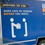 引越し業者のトラックに乗せてもらうことは出来るのか?