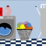 洗濯機の引越し準備~水抜き・取り外し~